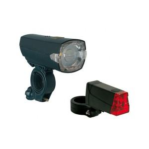 Büchel LED-Batterieleuchten-Set Slim