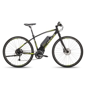 Rock Machine Crossride e500 - schwarz / lime / grau