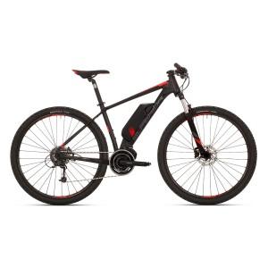 Superior eXC 849 - matt schwarz / dunkel grau / neon rot