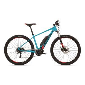 Superior eXC 859 - matt petrol blau / schwarz / neon rot