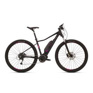 Superior MODO eXC 859 - matt schwarz / dunkel grau / pink