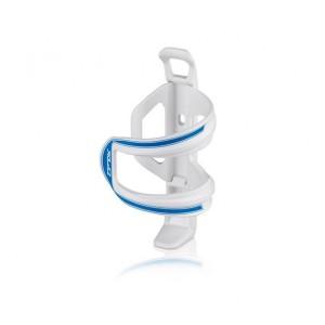 XLC Trinkflaschenhalter Sidecage - weiß / blau