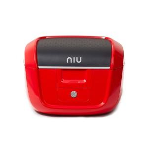 NIU N1 Top Case inkl. Gepäckträger - rot