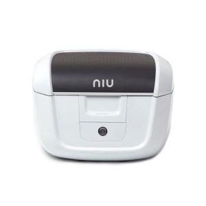 NIU N1 Top Case inkl. Gepäckträger - weiß