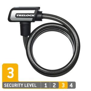 Trelock SLS3 150/15 ZK 432 Spiralkabelschloss